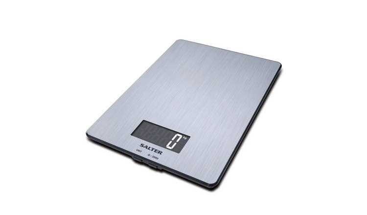 Salter Stainless Steel Digital Kitchen Scale