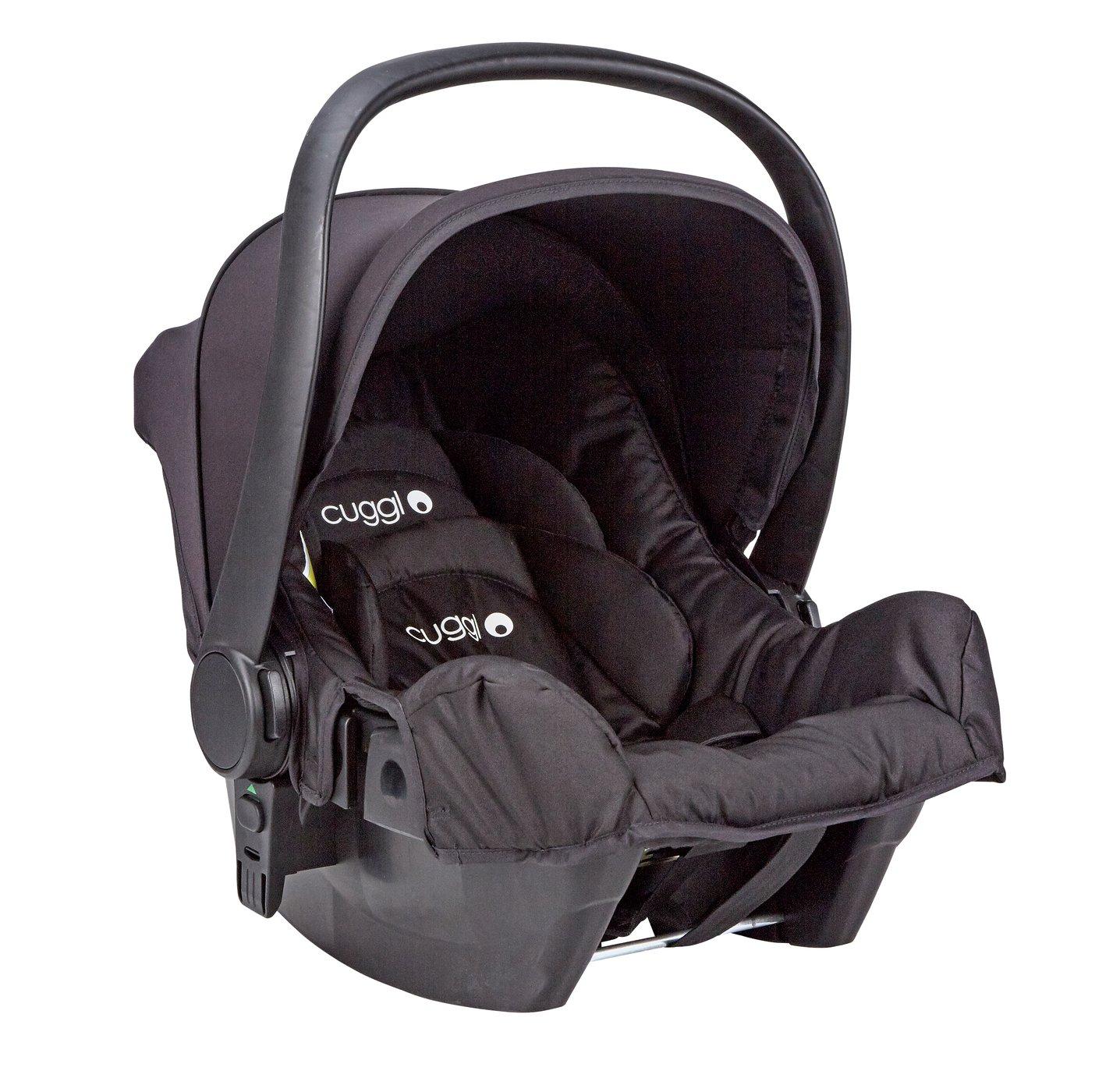 Cuggl Dove Group 0+ Infant Car Seat - Black