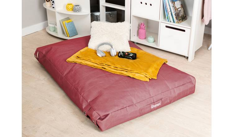 Stompa Buckle Lounger Bean Bag - Pink