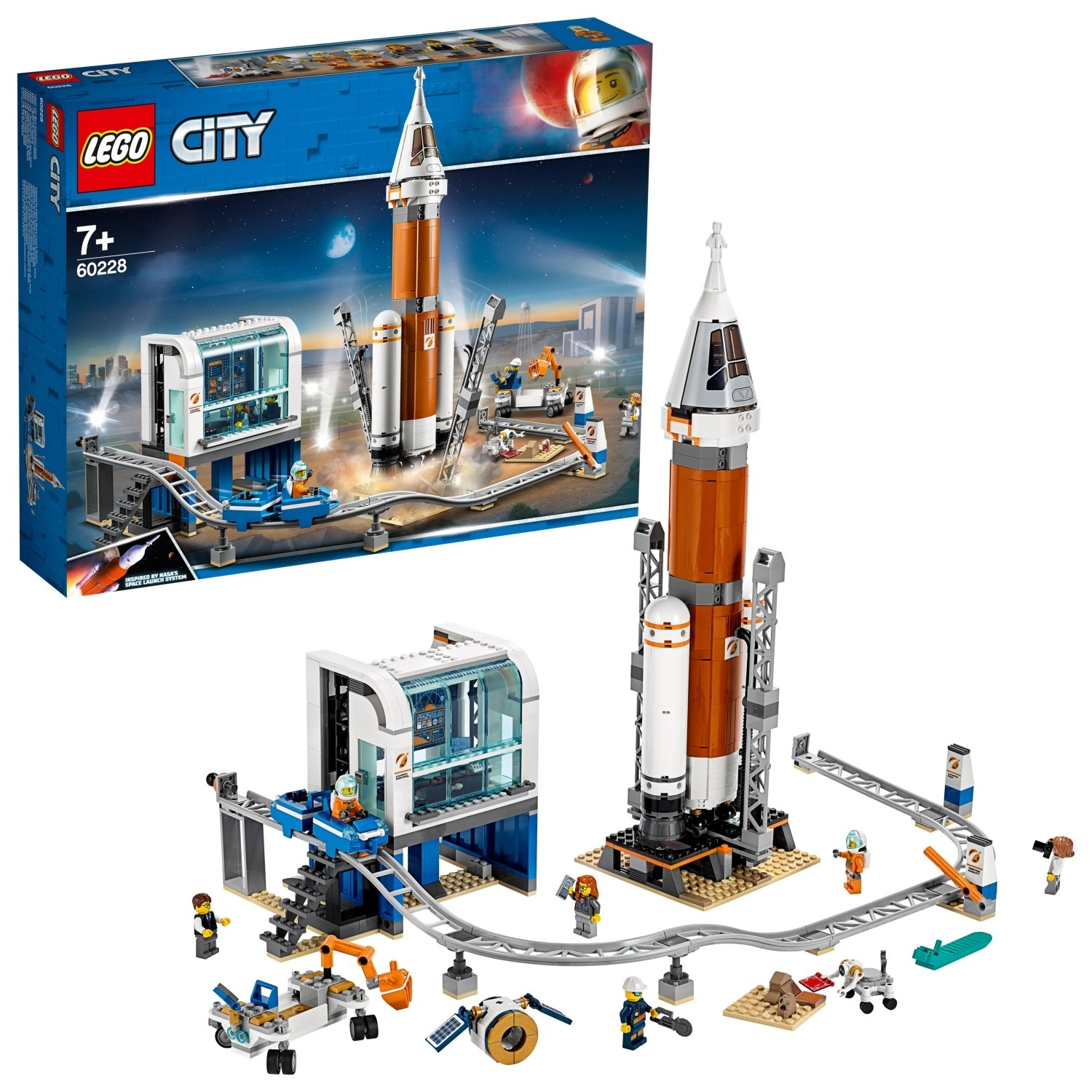 LEGO City Space Rocket n Launch Control Playset - 60228