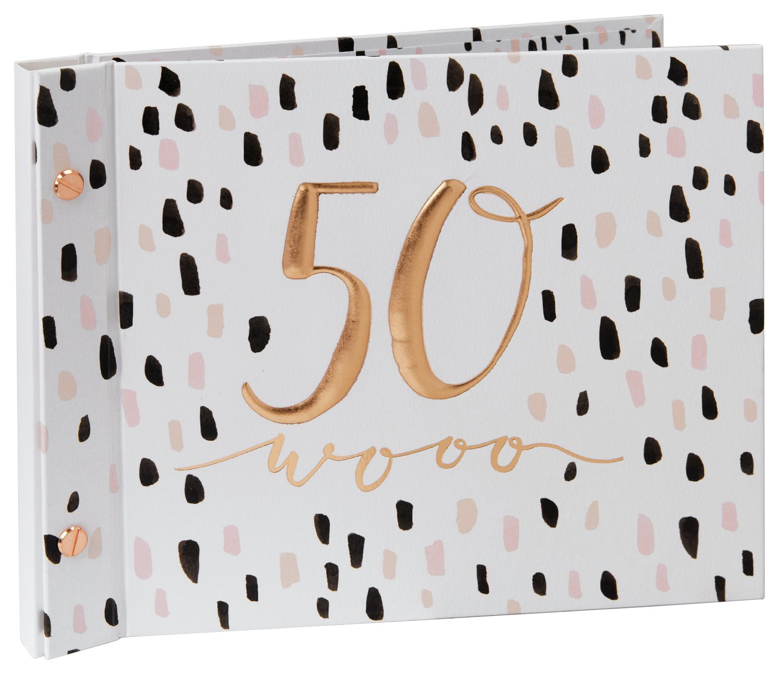 Hotchpotch Luxe 50th Birthday Guest & Photo Book