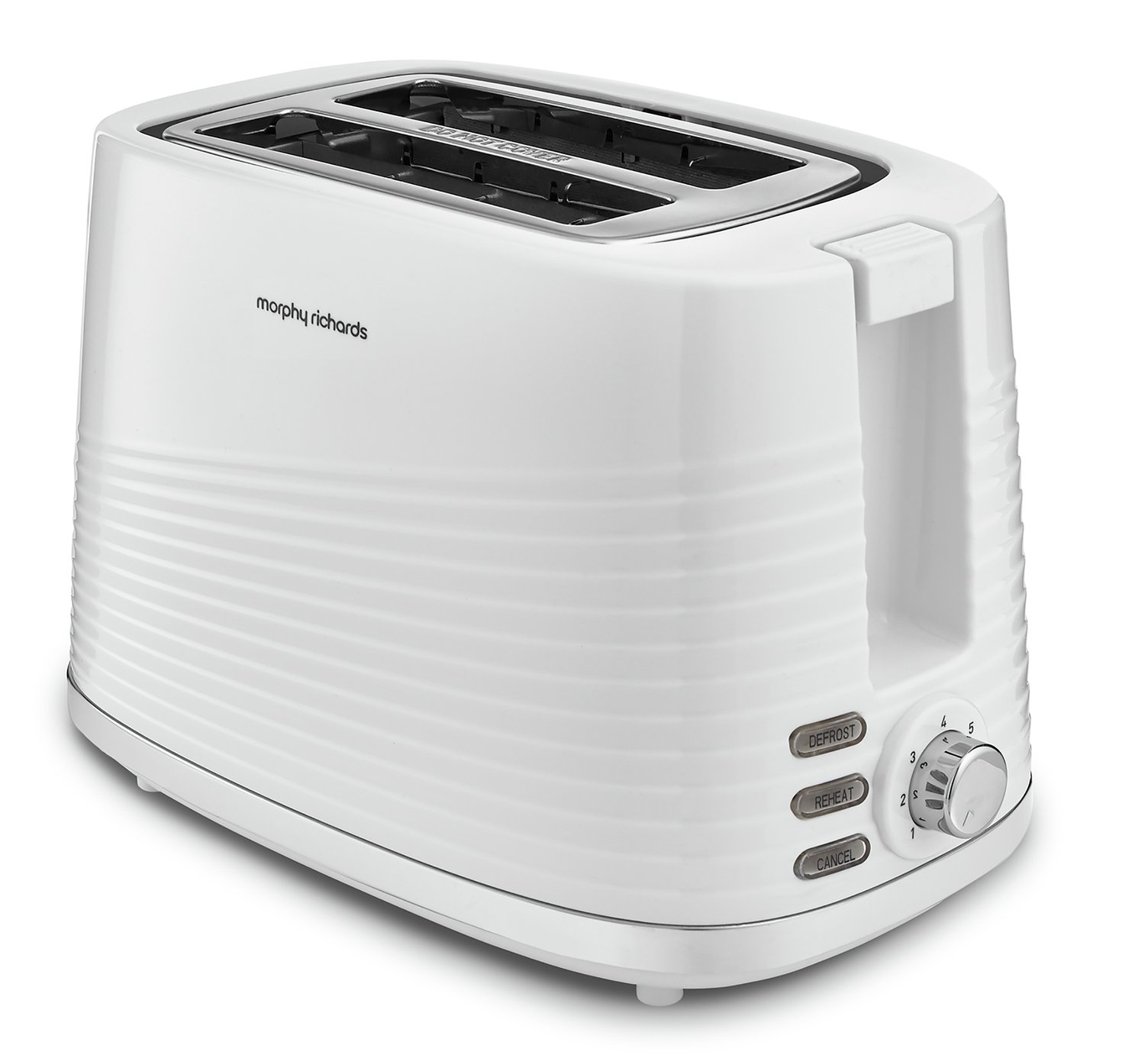 Morphy Richards 220029 Dune 2 Slice Toaster - White