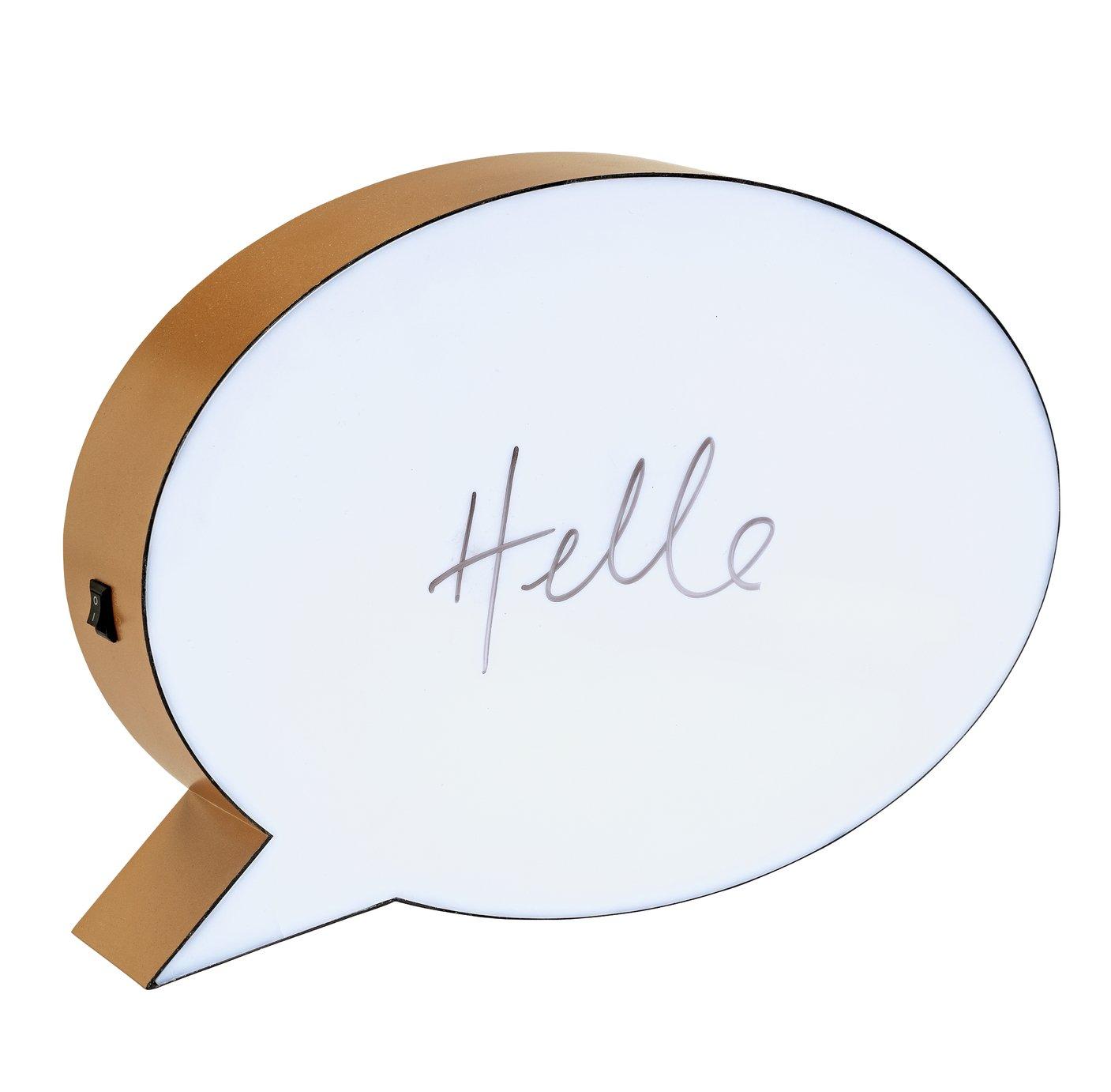 Doin it for the Gram Speech Bubble Room Light