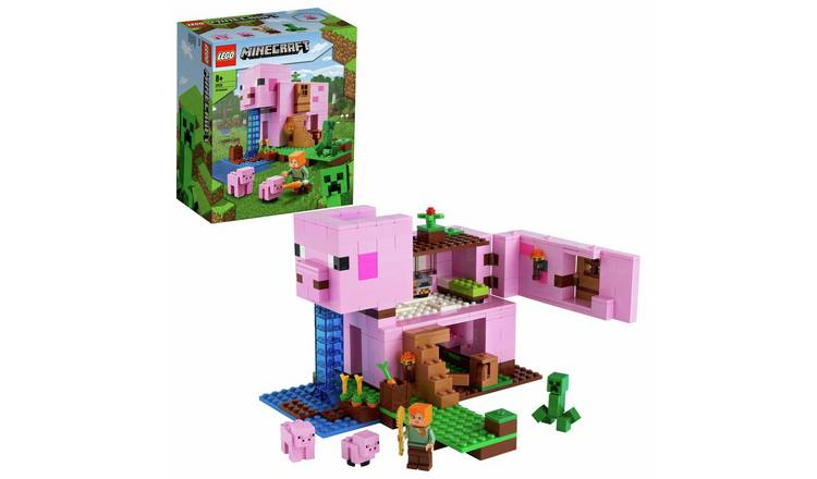 LEGO Minecraft The Pig House Building Set 21170