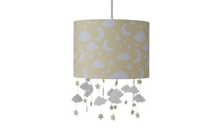 Argos Home Baby Cloud Shade - Yellow