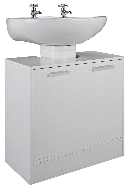 Argos Home Prime Undersink Storage Unit - White