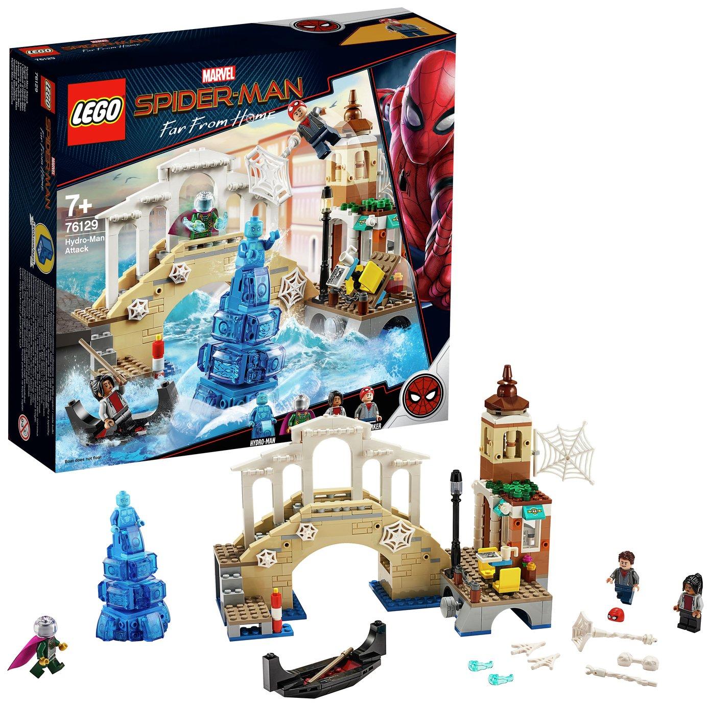 LEGO Marvel Spider-Man Hydro-Man Attack Toy - 76129