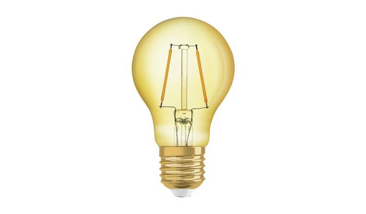 Osram 22W ES LED Glass Vintage Gold Light Bulb