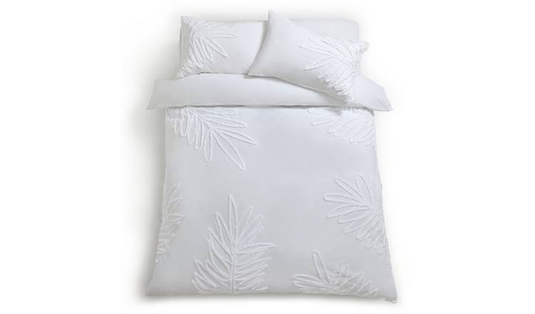Habitat Tufted Leaf Reversible Bedding Set - Superking