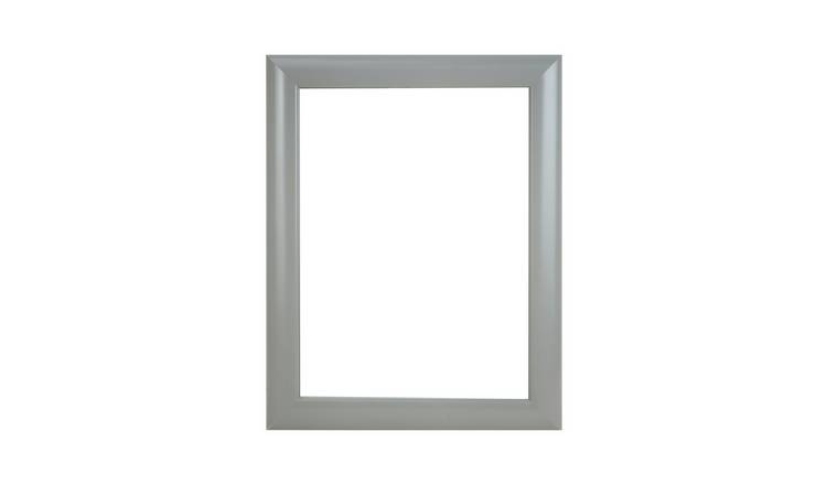 Argos Home Framed Mirror - Grey
