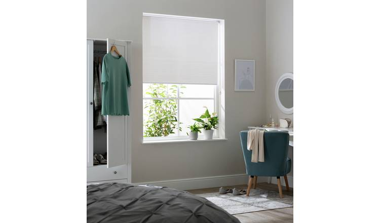 Habitat Daylight Sheer Roller Blind - 4ft - White