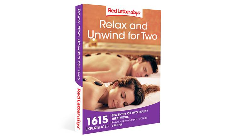 Red Letter Days Relax & Unwind For Two Gift Experience