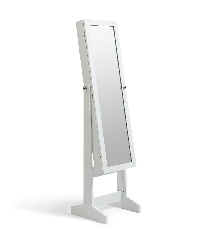 Argos Home Jodie Jewellery Storage Mirror - White