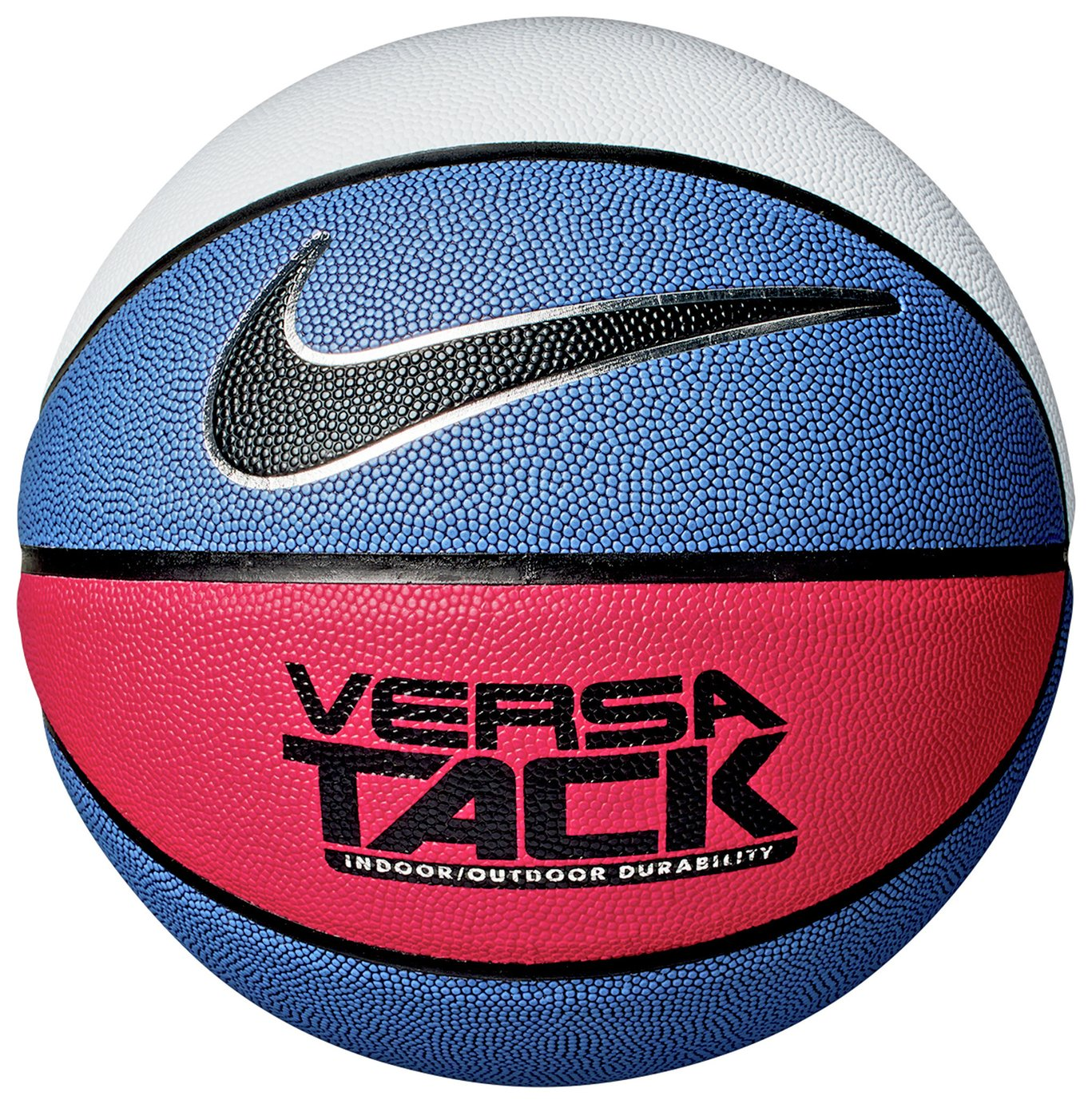 Nike Versa Tack Size 7 Basketball - Blue and Red