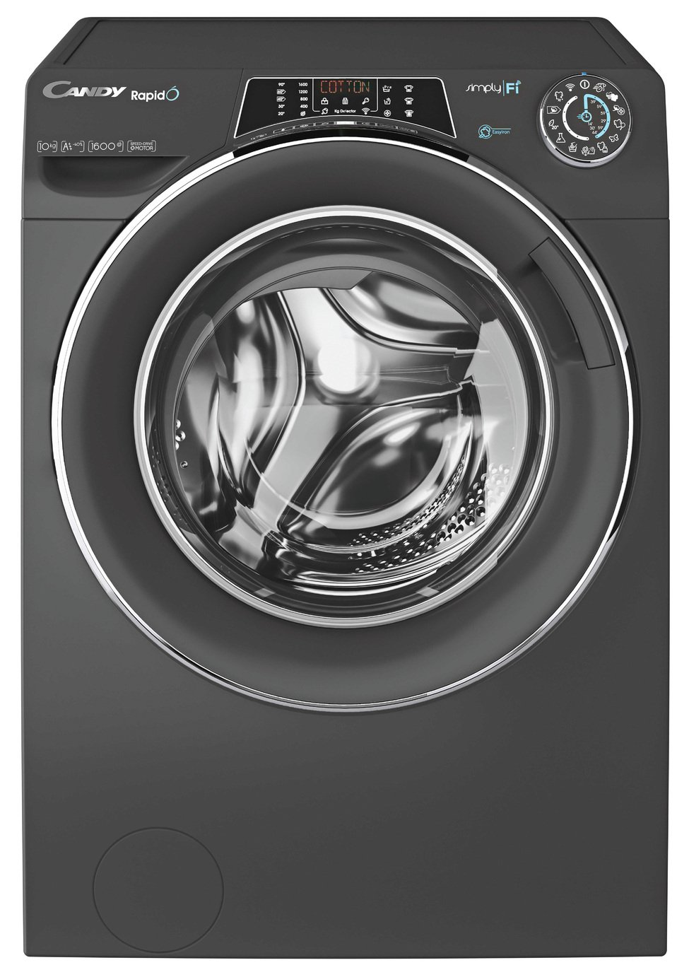 Candy Rapido RO16105DWHC7G 10KG 1600 Spin Washing Machine
