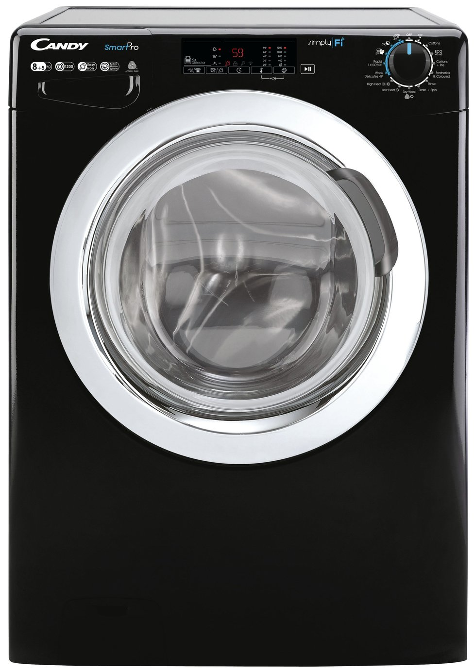 Candy CSOW2853TWCBE 8KG / 5KG Washer Dryer - Black