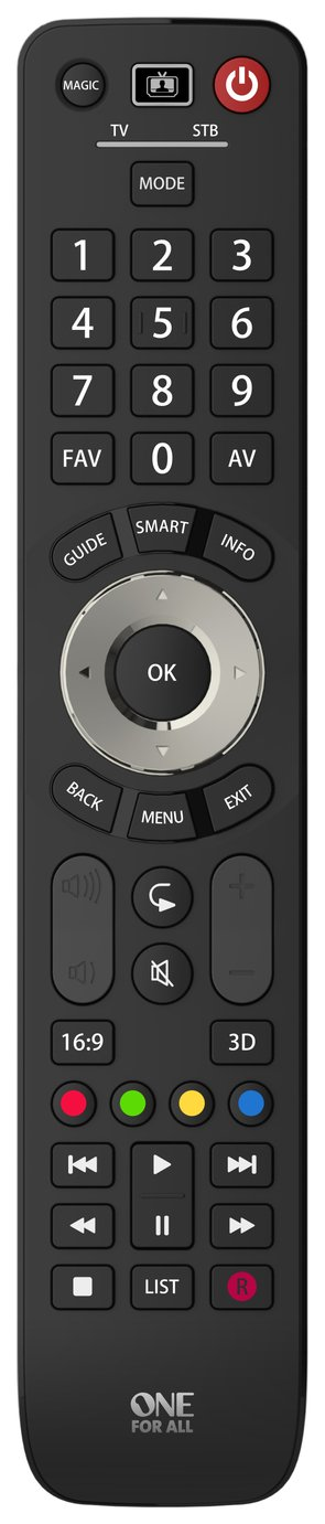 One For All URC7125 Evolve 2 Way Universal Remote Control