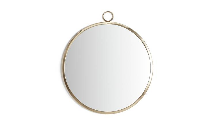 Habitat Country Hideaway Round Metal Mirror