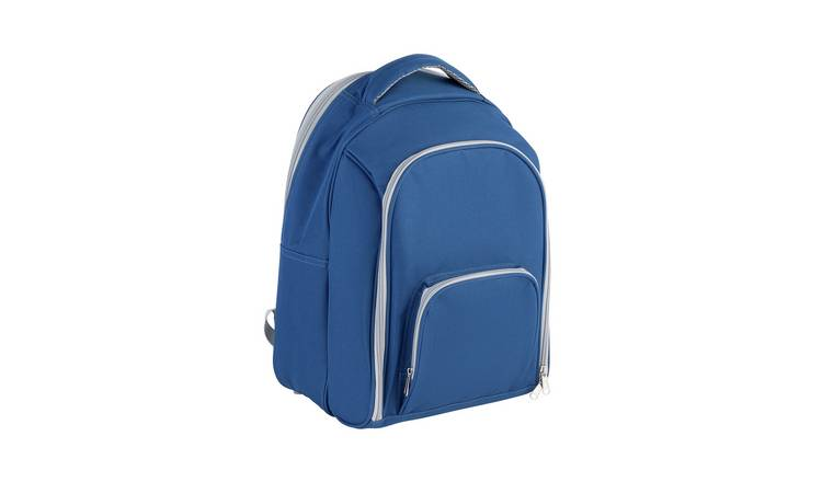 Argos Home Blue Backpack Cool Bag - 22L