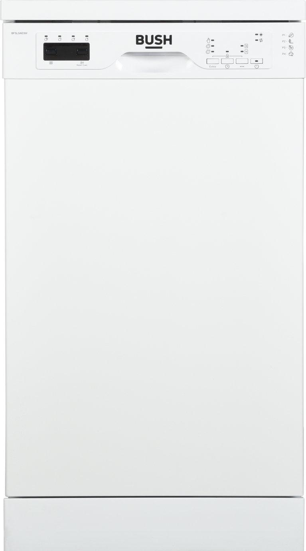 Bush BFSLSAE9W Slimline Dishwasher - White