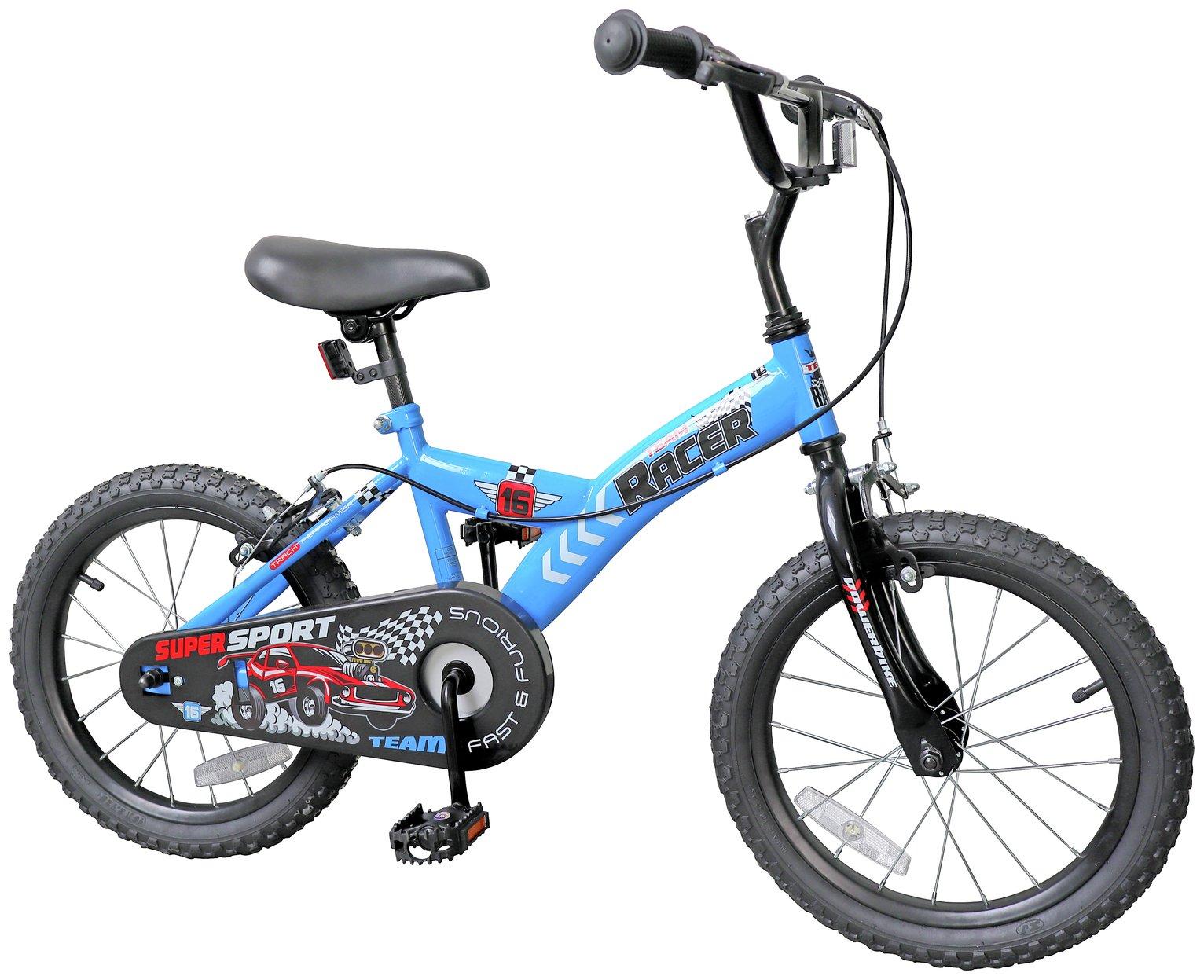 16 Inch Racing Cars Kid's Bike