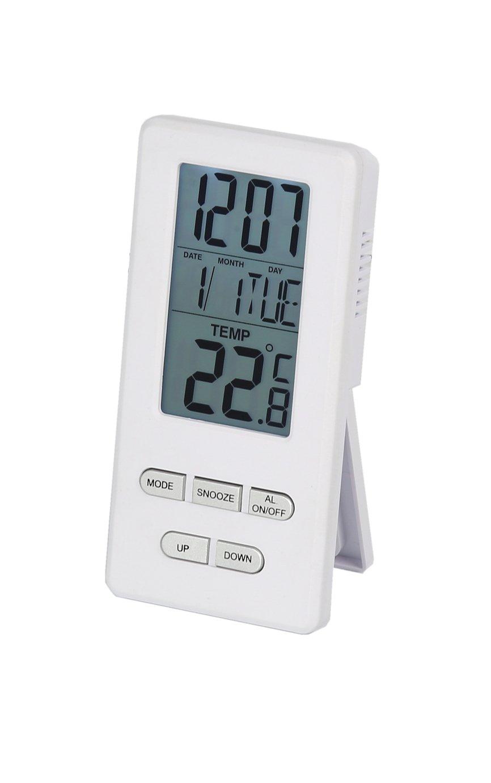 Constant Radio Controlled Clock with Alarm and Temperature