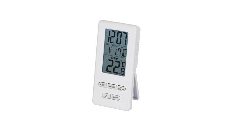 Constant Radio Controlled Clock with Alarm and Temperature