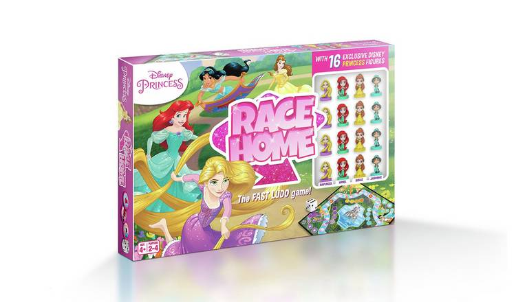 Disney Race Home Princess Game