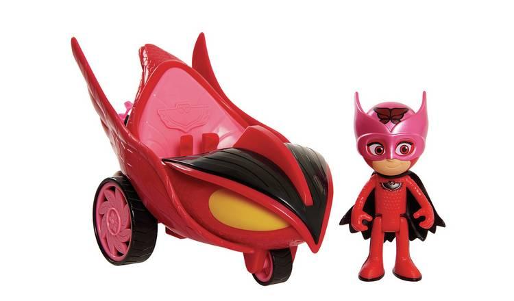 UK Stock 2019 PJ Masks Action Figure Catboy Car Owlette Glider Gekko Mobile Toys