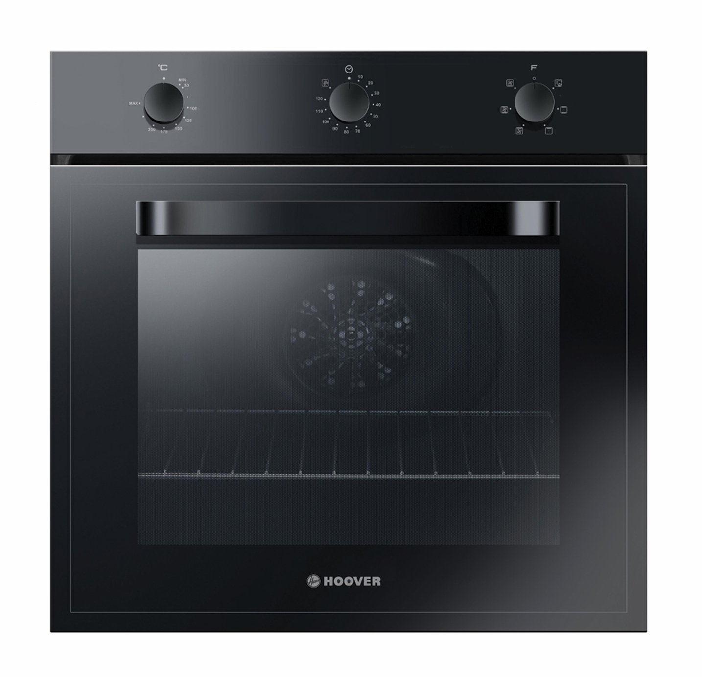 Hoover HOT1151B/E Single Oven - Black