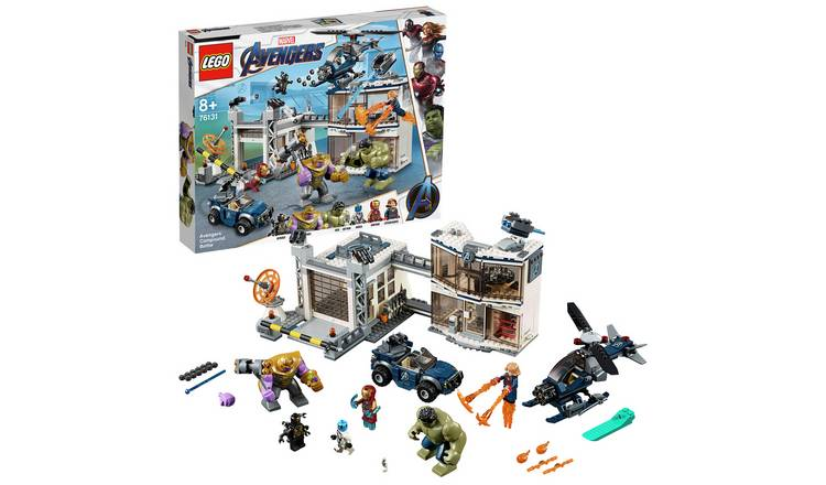 LEGO Marvel Avengers Compound Battle Playset - 76131