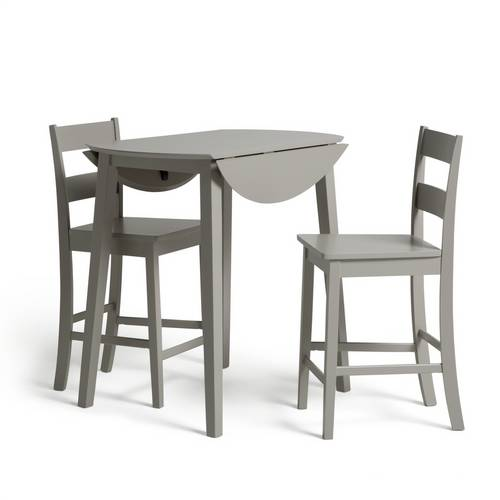Buy Argos Home Chicago Extending Bar Table 2 Stools Grey Dining Table And Chair Sets Argos