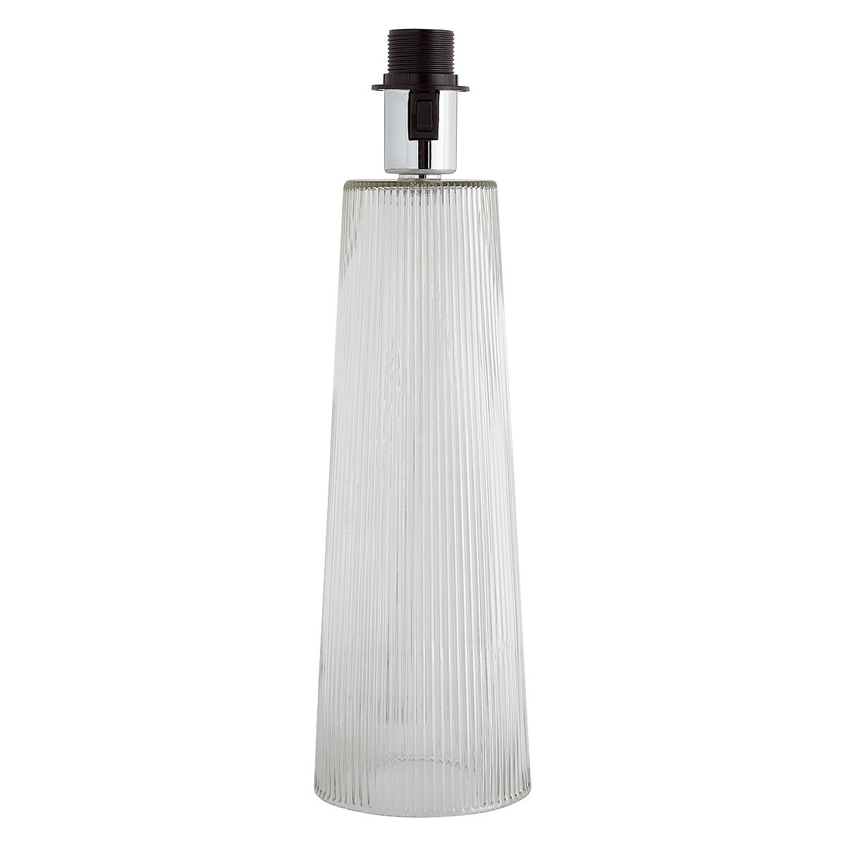 Habitat Whistable Glass Table Lamp Base