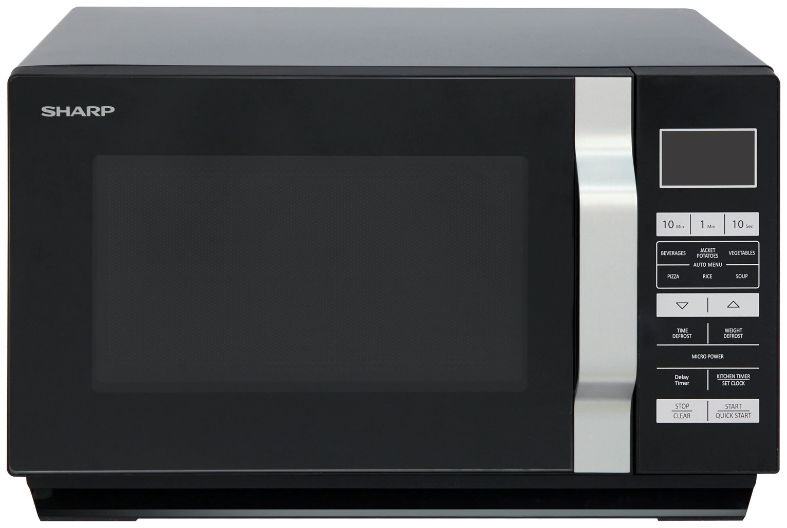 Sharp 900W Standard Microwave R360KM - Black