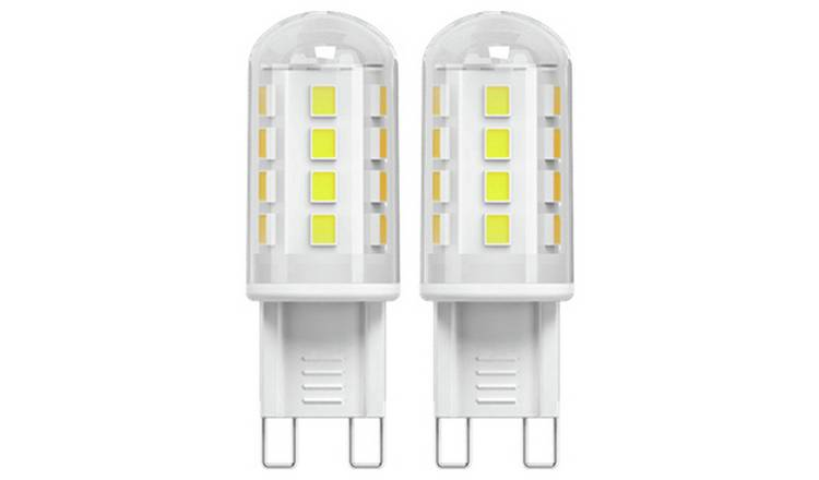 Argos Home 2W LED G9 Light Bulb - 2 Pack