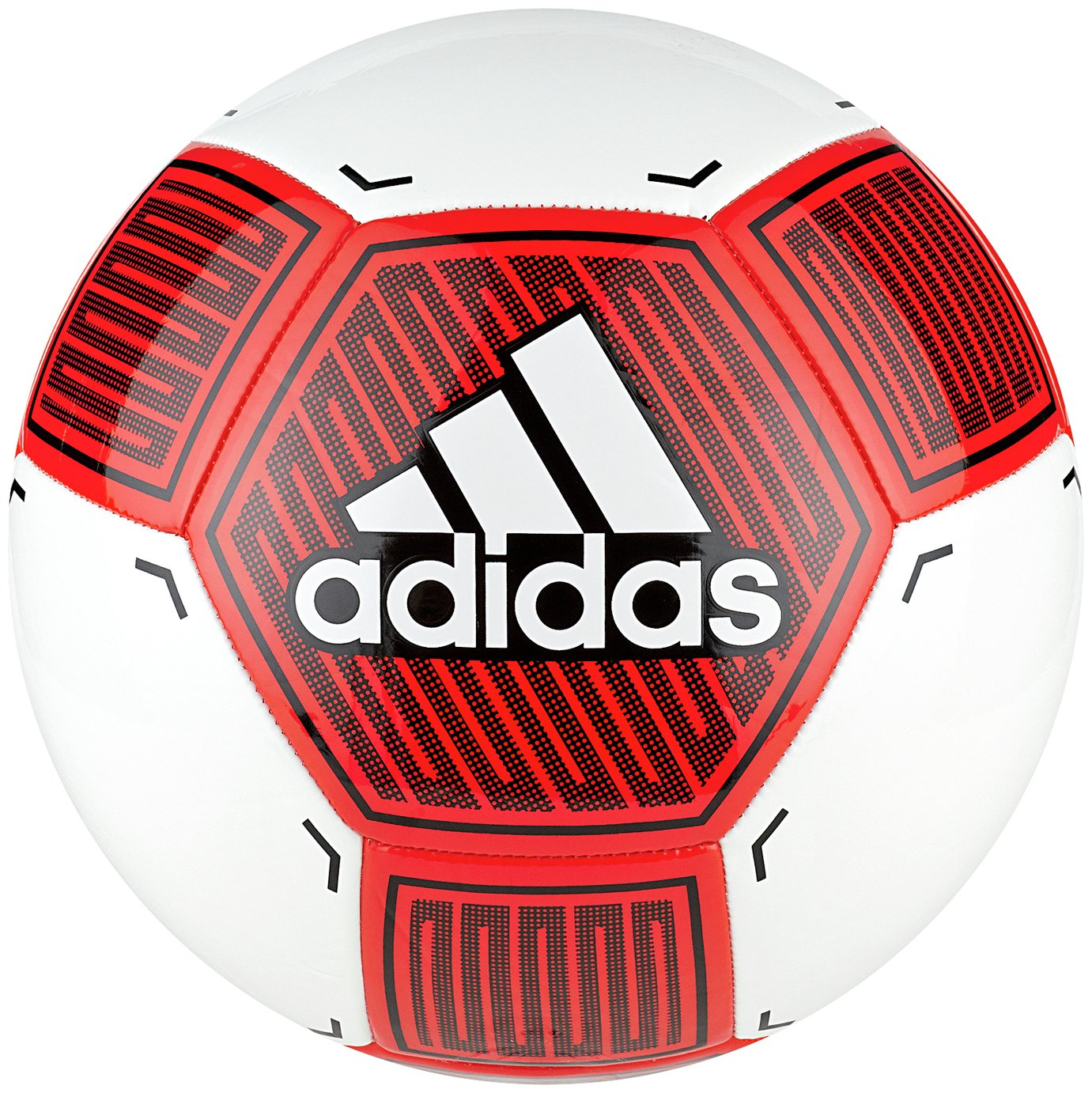 Adidas Starlancer VI Size 5 Football - Red and White