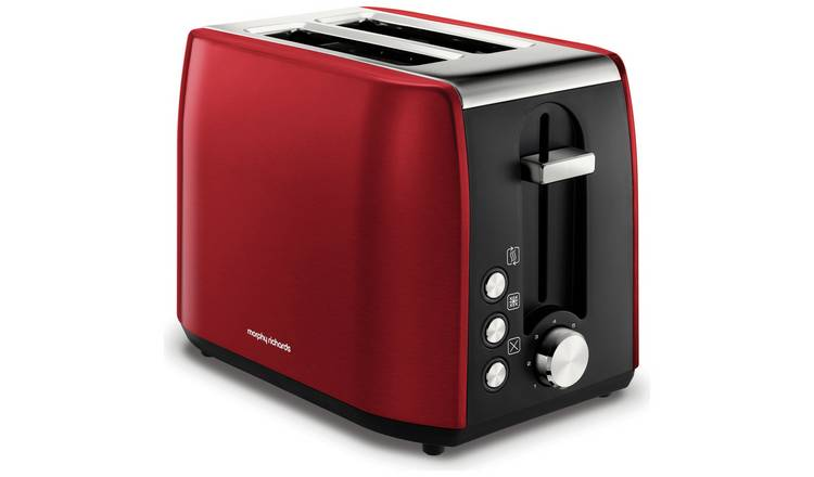 Morphy Richards 222060 Equip 2 Slice Toaster - Red