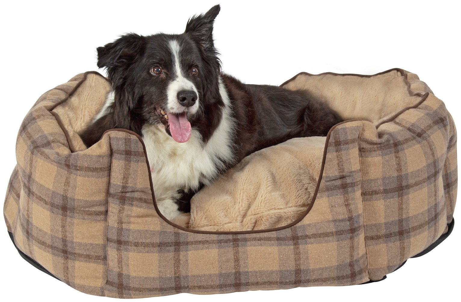Pineham Memory Foam Oval Pet Bed - Large