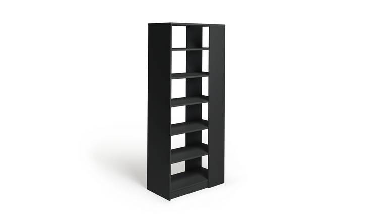Habitat Compton 6 Tier Shelving Unit - Black