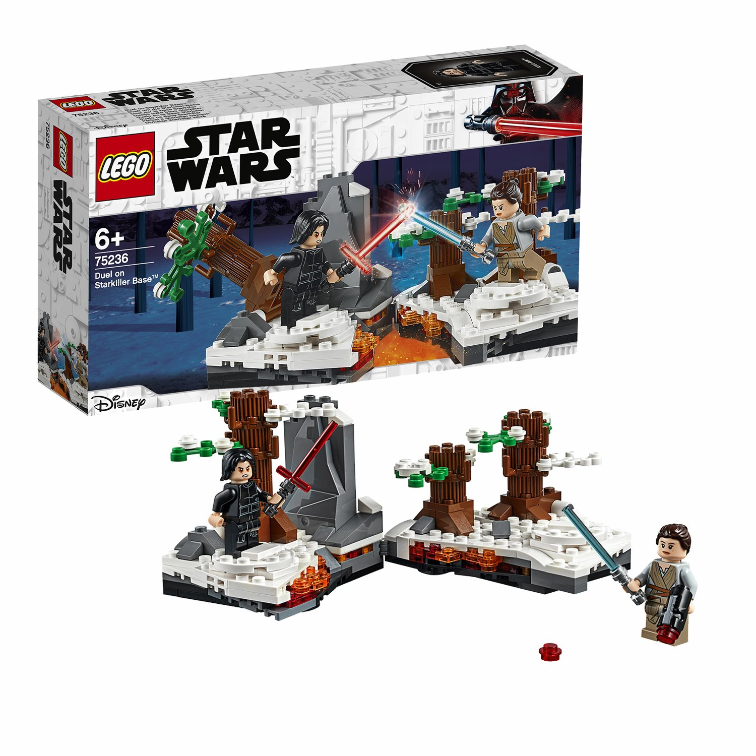 LEGO Star Wars Force Awakens Duel on Starkiller Base - 75236