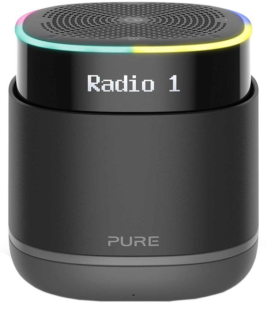 Pure StreamR Wireless Speaker -  Charcoal