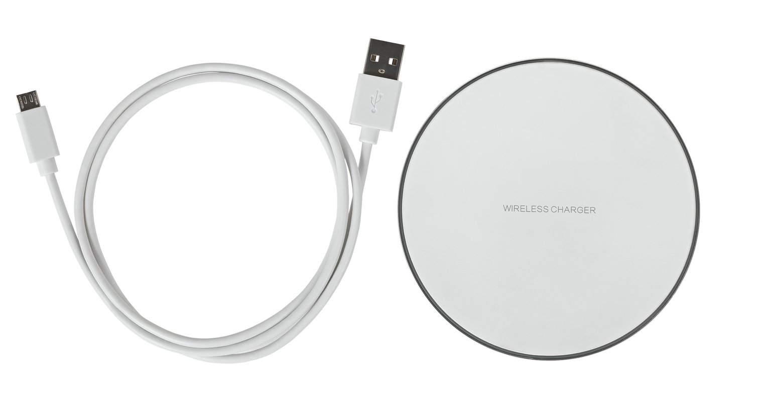 10W Wireless Charger - White