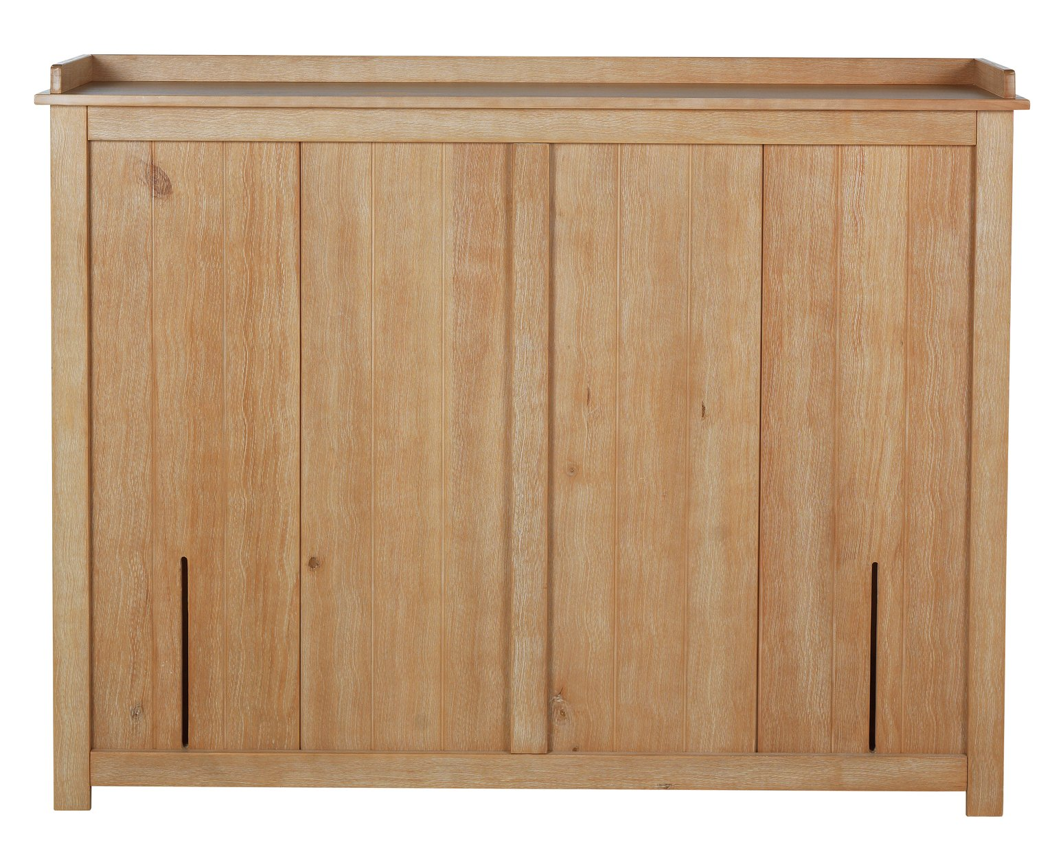 Argos Home Crusoe Kingsize Storage Headboard - Pine