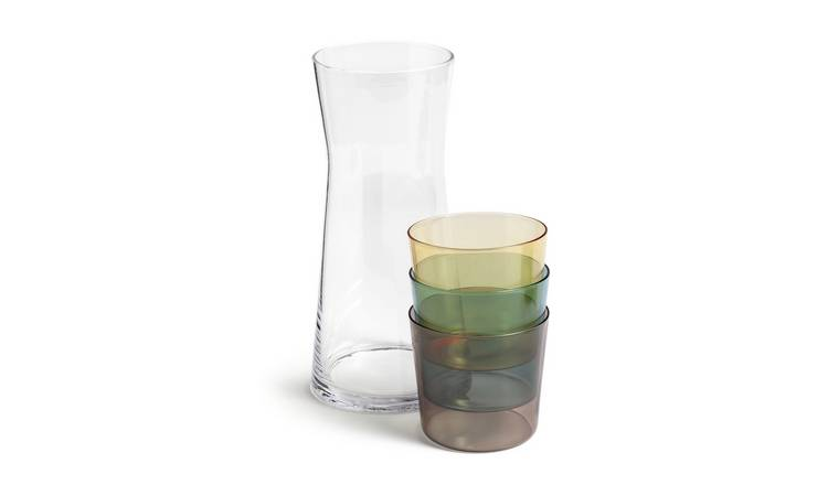 Habitat Stacking Tumblers and Carafe Set