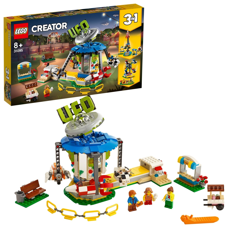 LEGO Creator Fairground Carousel Playset - 31095