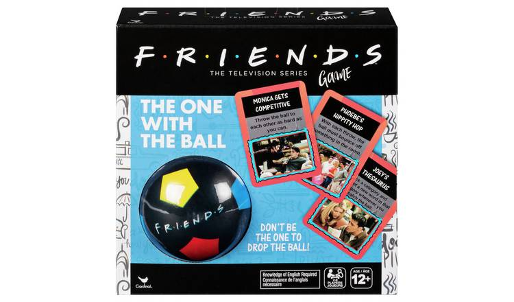 Spinmaster Games Friends 'The One with the Ball' Game