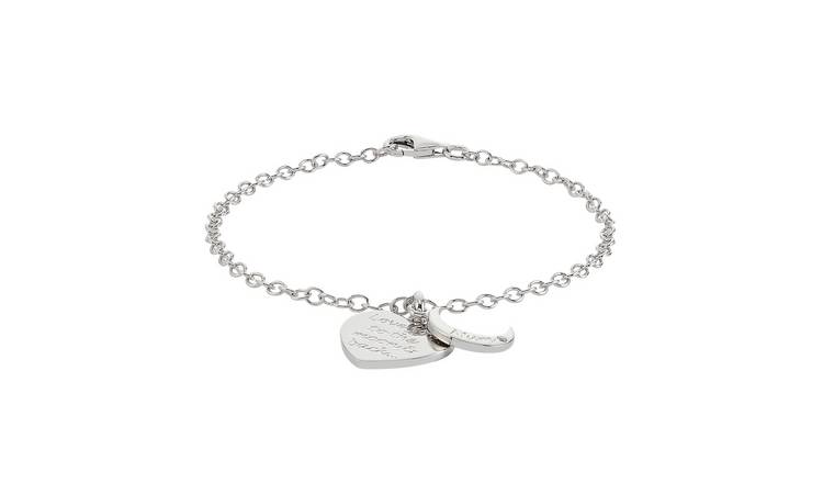 Moon & Back 'Love you to the Moon & Back' Mum Charm Bracelet