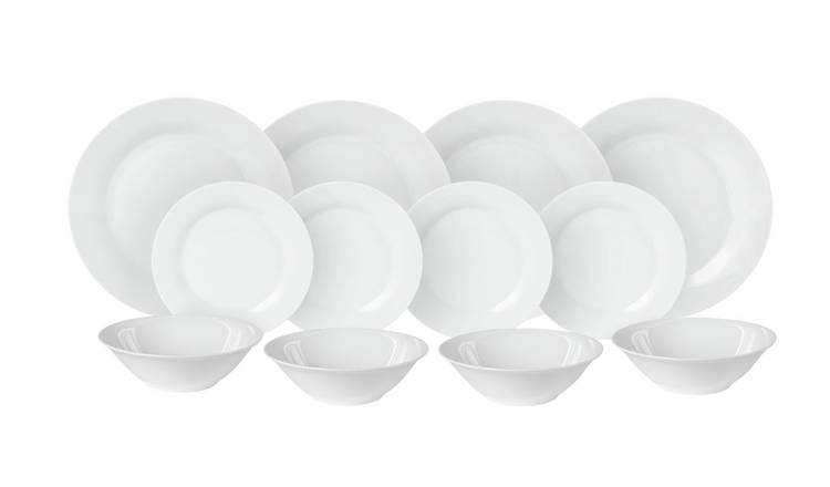 Argos Home 18 Piece Porcelain Dinner Set