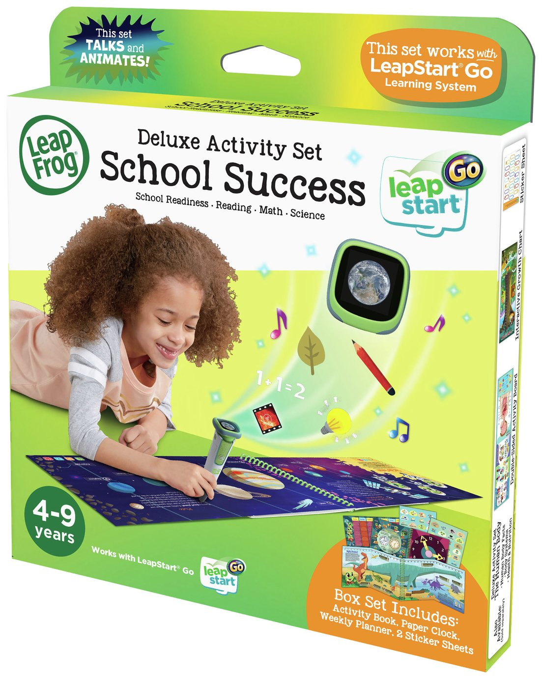 LeapFrog Leapstart Go School Success Software