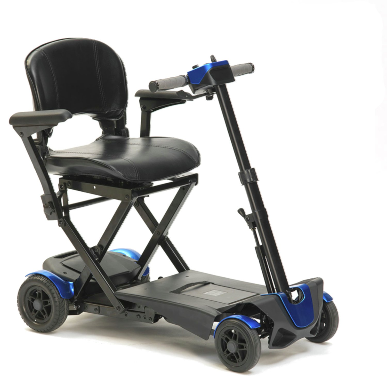 Drive Devilbiss Autofolding Blue Scooter